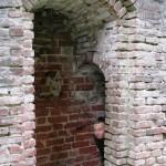 Krimuldas pils drupas